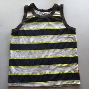 Striped tank size 4